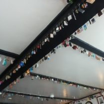 The pub's key ring collection