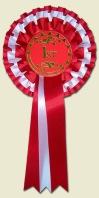 1st place f3 rosette