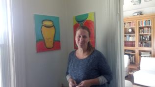 Superhost, Kathleen and her art