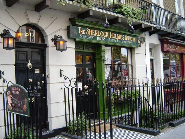 Sherlock Holmes Museum 221B Baker St