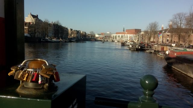 View from Magere Brug