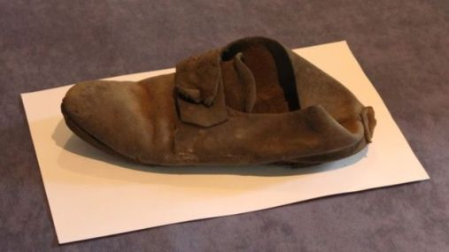 Hidden Shoe from Northampton Museum Collection