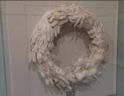 Roz Hawksley, wreath. (old tutor from Goldsmiths)