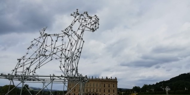 Ode to the dog at Chatsworth