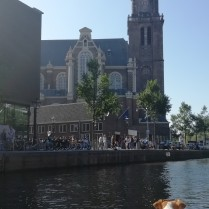 The Westertoren which Anne Frank looked out onto.